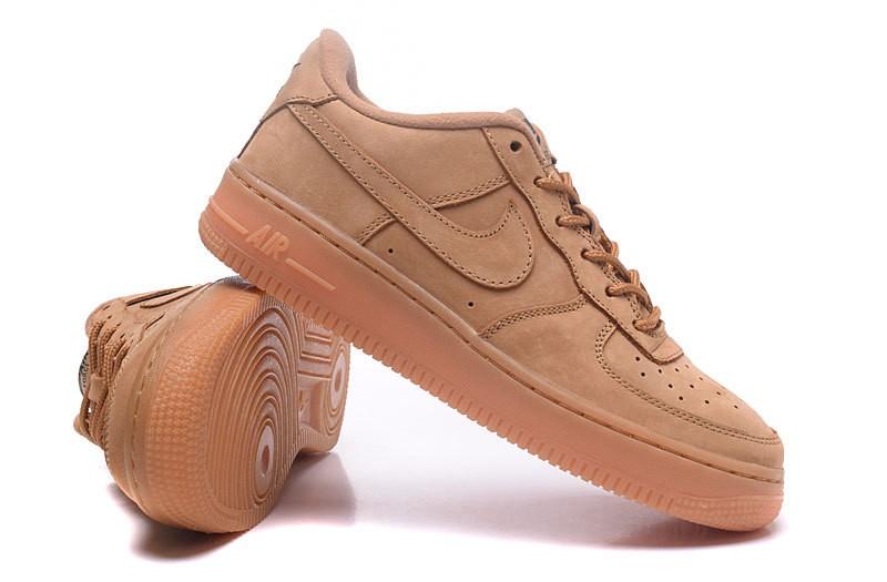 Soldes > air force one marron femme > en stock