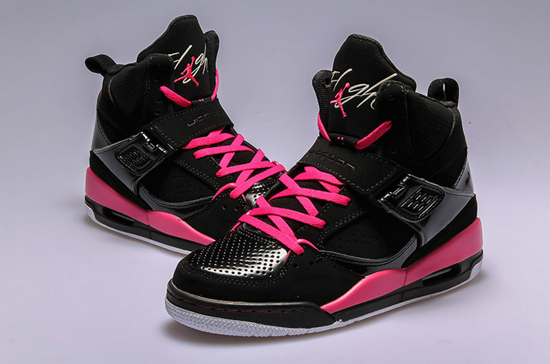 air jordan flight 45 noir et rose