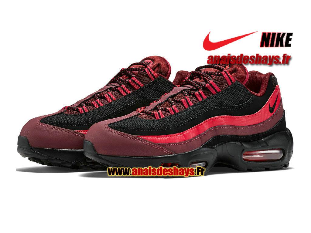 Soldes > air max 95 noir rouge > en stock
