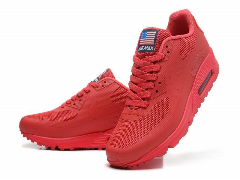 chaussures de sport 85e1e 1ed5f nike air max rouge