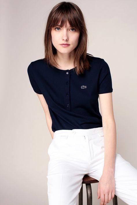 Tee Lacoste Cher Femme Shirt Pas iPkZuX